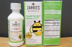 Bao bì siro ho long đờm Zarbee's cough syrup and mucus 118ml